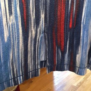 Cynthia Rowley Tops - Red, White & Blue Tunic